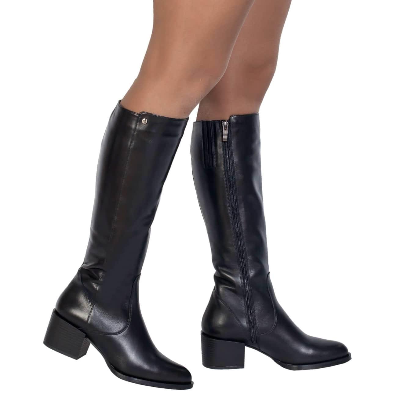 Кожаные сапоги в ростове женские фото